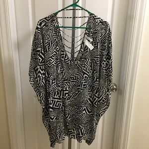 Kenneth Cole Swim Suit Coverup Medium